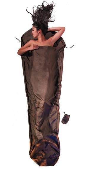 Cocoon MummyLiner makuupussi Silk , ruskea